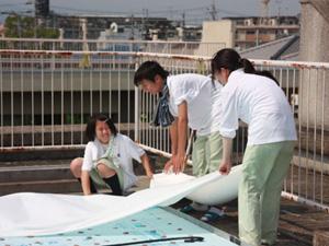 京都府立桂高等学校 TAFF「地球を守る新技術の開発」研究班