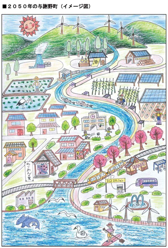 2050年の与謝野町
